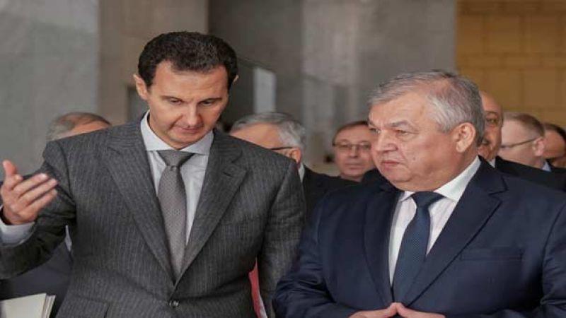 الأسد التقى المبعوث الخاص لبوتين وتأكيد على استعادة الدولة السورية للسيطرة على كامل الأراضي السورية