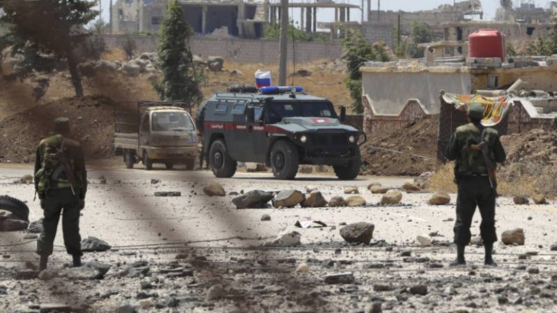 الدفاع الروسية: إصابة 3 عسكريين روس في سوريا جراء انفجار عبوة ناسفة