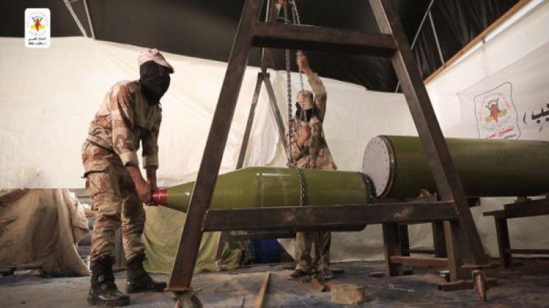 إعلام العدو: 2600 قذيفة صاروخية أُطلقت من غزة خلال عامين