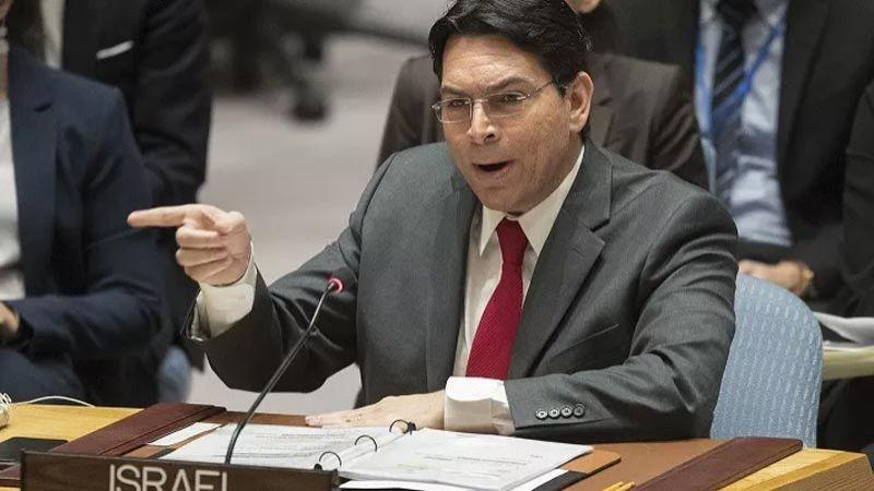 """السفير الصهيوني لدى الأمم المتحدة يدعو إلى اعتراف دول عربية بـ""""اللاجئين اليهود"""""""
