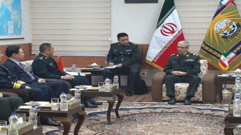 اللواء باقري يعلن عن صياغة وثيقة استراتيجية لمستقبل العلاقات الايرانية الصينية