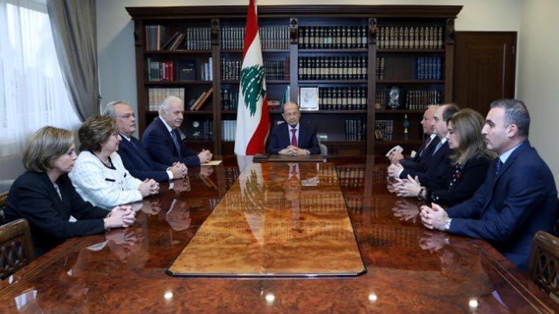 الرئيس عون: اولويات الحكومة العتيدة تحقيق الأصلاحات الضرورية