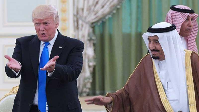 واشنطن بوست: ترامب يدافع عن السعودية ويتكلم باسمها
