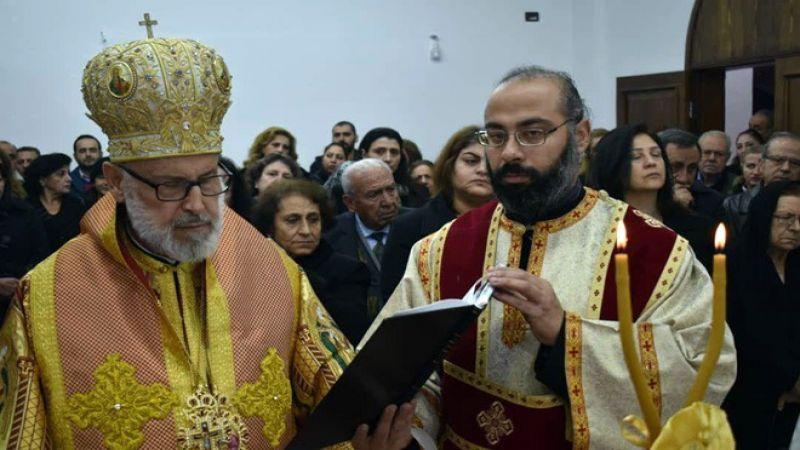 أول قداس في عربين بالغوطة الشرقية بعد تحريرها من الإرهاب