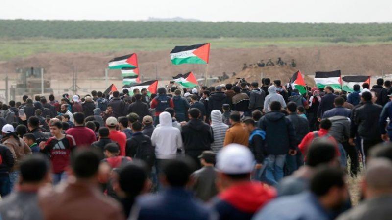 """إصابات في جمعة """"فلسطين توحدنا والقدس عاصمتنا"""" في قطاع غزة"""