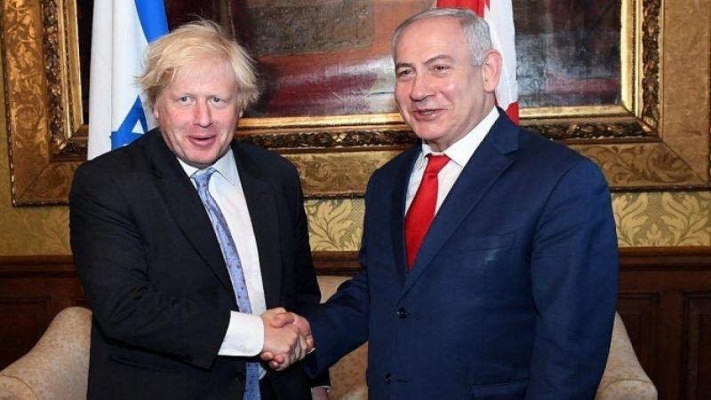 كيان العدو يهنّئ جونسون بفوزه في الانتخابات التشريعية في بريطانيا