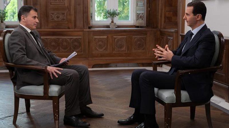 الأسد: أمريكا تسرق نفطنا
