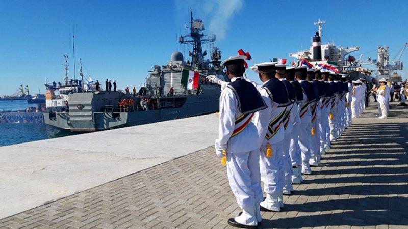 إنجاز المرحلة الأولى من تدريبات المناورة المشتركة بين إيران وروسيا والصين