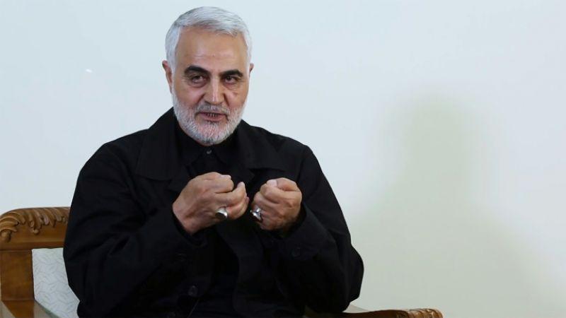 القائد سليماني وأمنية الشهادة على خط فلسطين