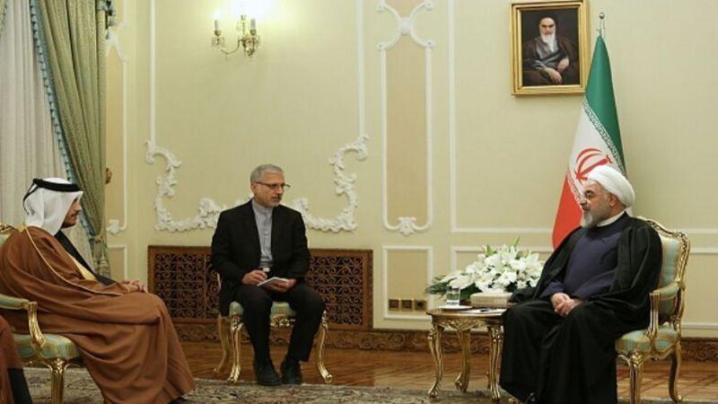 روحاني لوزير الخارجية القطري: أميركا ستدفع ثمنًا باهظًا