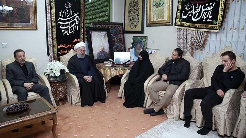 الرئيس الايراني: الثأر لدم الشهيد سليماني واقعٌ لا محالة
