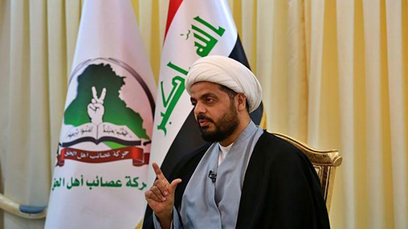 الشيخ الخزعلي للإحتلال الأمريكي: ترقبوا الرد العراقي المزلزل