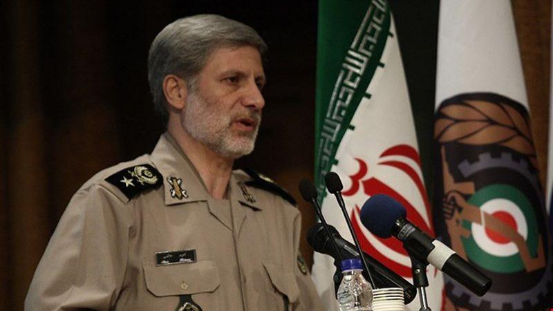 وزير الدفاع الإيراني: بإنهاء الوجود الأمريكي في المنطقة يزول التوتر