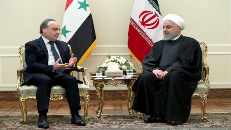 روحاني: تعاون ايران وسوريا ينبغي ان يستمر حتى خروج القوات الأمريكية من سوريا