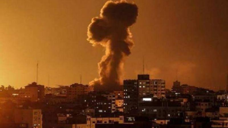 طائرات العدو تقصف مواقع للمقاومة في غزة