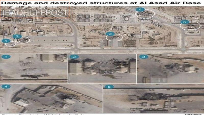 """تأكيدٌ جديد على إصابة جنود أميركيين في الضربة الإيرانية لقاعدة """"عين الأسد"""""""