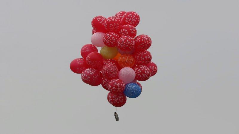 الفلسطينيون يستأنفون إطلاق البالونات الحارقة نحو المستوطنات