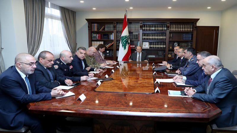 الرئيس عون يترأس اجتماعًا أمنيًا: لمنع الاعتداء على الاملاك العامة والخاصة
