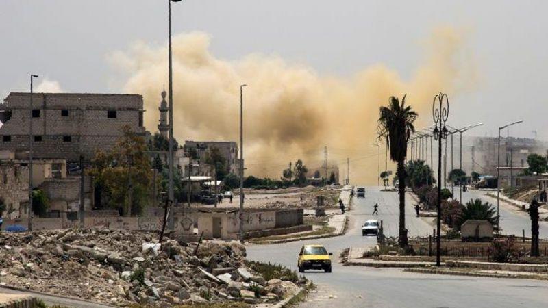 أحياء حلب تحت قصف الإرهابيين