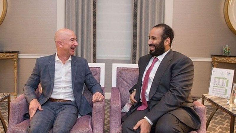 """هكذا خرق محمد بن سلمان شخصيًا هاتف صاحب شركة """"أمازون"""""""