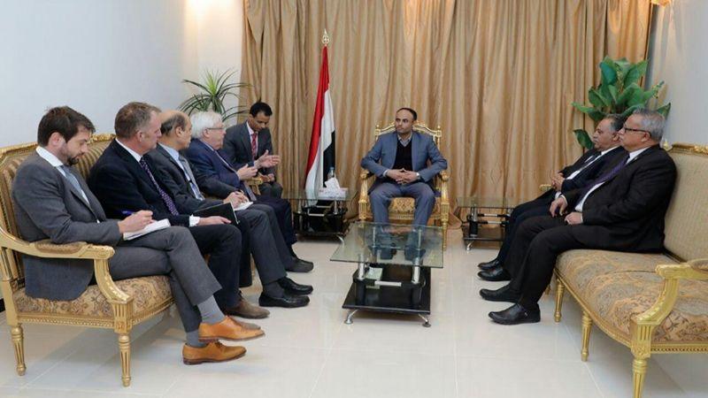 غريفيث في اليمن .. لقاءات تدعو الأمم المتحدة لتنفيذ وعودها