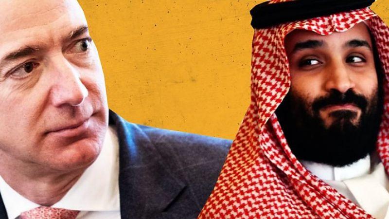 مشاهير التقاهم محمد بن سلمان يتفقدون هواتفهم