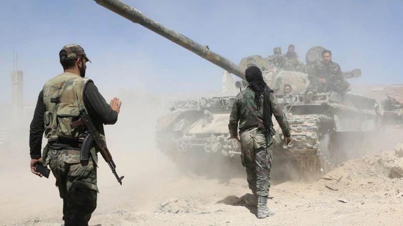 هجومٌ إرهابي على الوحدات السورية شرق إدلب