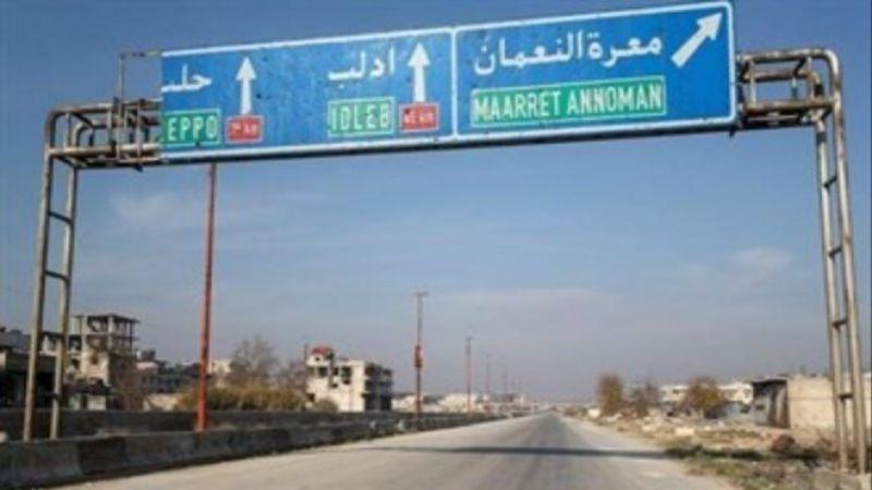 الجيش السوري على مشارف معرة النعمان ويقطع نارياً طريق حلب - دمشق الدولي