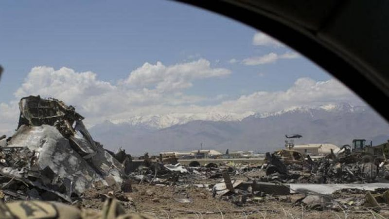 طالبان تتبنى إسقاط طائرة تجسس أميركية في أفغانستان ومقتل جميع طاقمها