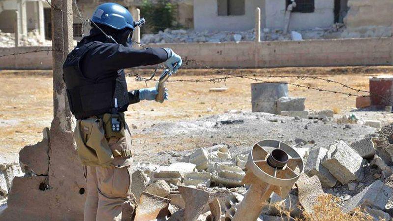 """""""هجوم كيميائي"""" مفبرك .. أسلوب الإرهابيين لوقف عمليات الجيش السوري"""