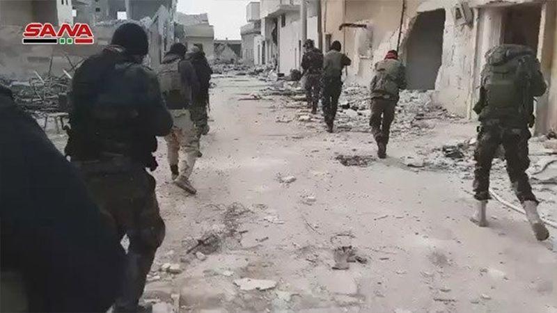 انجاز استراتيجي سوري ..معرة النعمان إلى حضن الدولة مجدداً