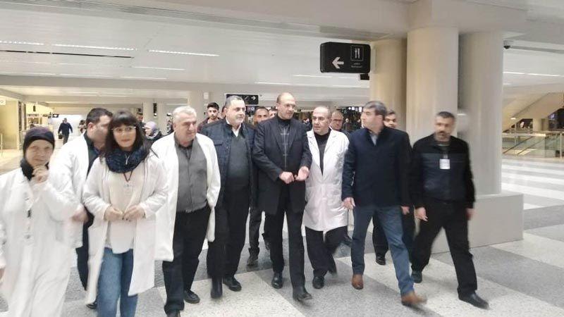 زيارة مفاجئة لوزير الصحة إلى مطار بيروت فجرا