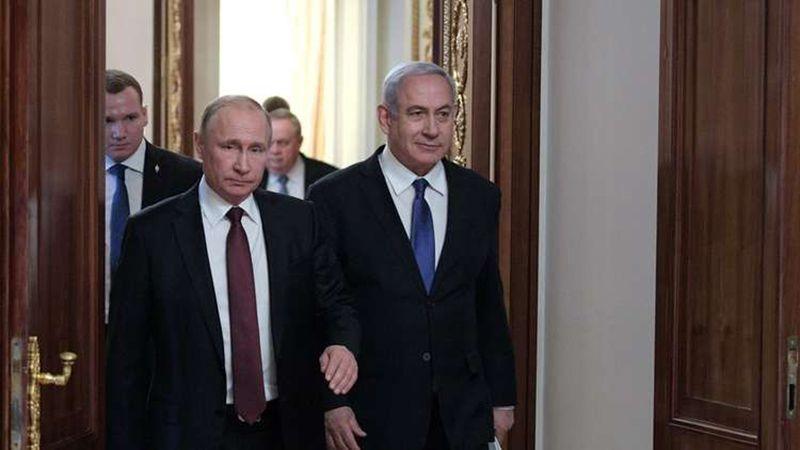 بوتين التقى نتنياهو في موسكو