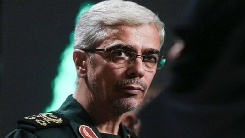 """رئيس الأركان الايراني يحذّر من التزام الصمت تجاه """"صفقة القرن"""""""