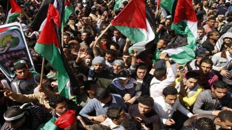 مسيرات حاشدة بقطاع غزة والضفة رفضًا لصفقة ترامب