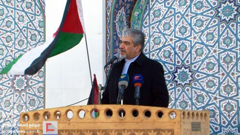"""السفير الإيراني في دمشق عن صفقة القرن  لـ""""العهد"""": جاؤوا بالسراب ليجعلوا منه حلم الفلسطينيين"""
