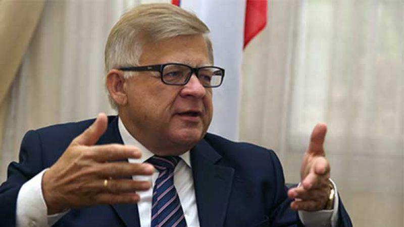 """السفير الروسي لـ""""العهد"""": أميركا أثارت الفوضى في لبنان..وروسيا تؤيّد موقف الفلسطينيين من """"صفقة القرن"""""""