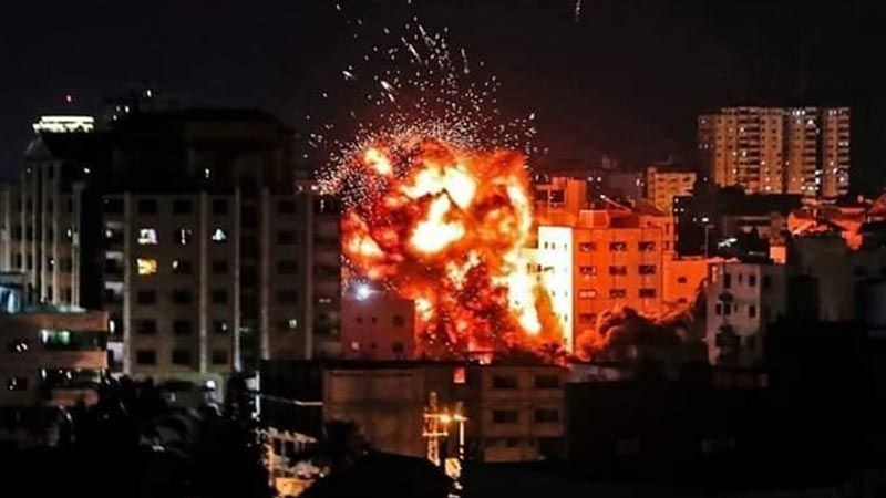 الإحتلال يقصف غزة بعد إطلاق قذائف هاون على مستوطنات الغلاف
