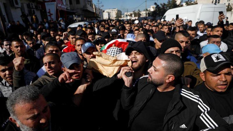 استشهاد فلسطيني وإصابة العشرات في مواجهات مع الاحتلال بالضفة الغربية