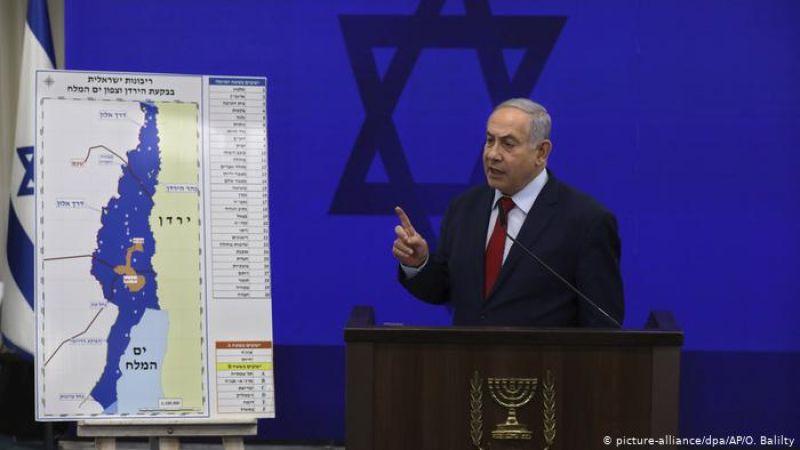الفلسطينيون يرفضون اعلان نتنياهو بشأن خرائط الضم