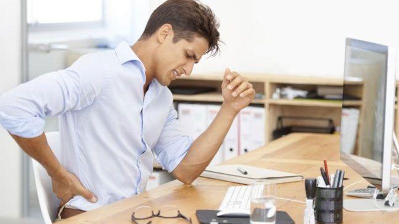 أمراض يُصاب بها الموظف في العمل المكتبي ما هي؟