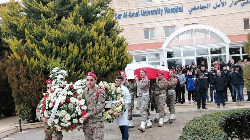تشييع شهداء الجيش اللبناني