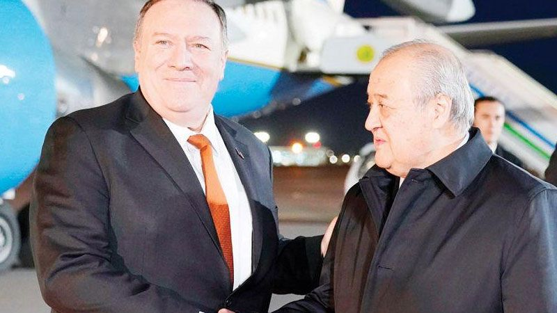 جولة بومبيو في آسيا الوسطى تكشف عن أجندة مُعادية للصين