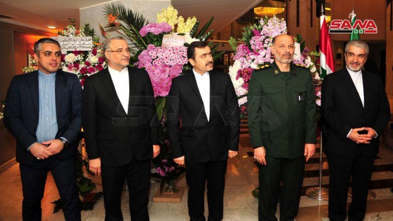 حفل استقبال للسفارة الايرانية بدمشق في ذكرى انتصار الثورة