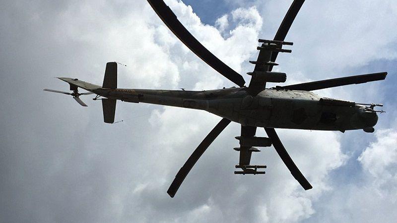 إسقاط طائرة مروحية للجيش السوري في ريف حلب الغربي واستشهاد طاقمها