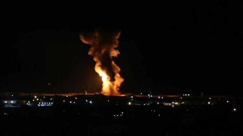 قصف صهيوني على غزة وتراجع عن حزمة تسهيلات بعد اطلاق قذيفتين من القطاع