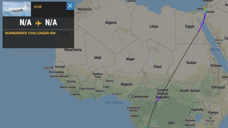 """للمرة الأولى طائرة """"إسرائيلية"""" تعبر الأجواء السودانية"""