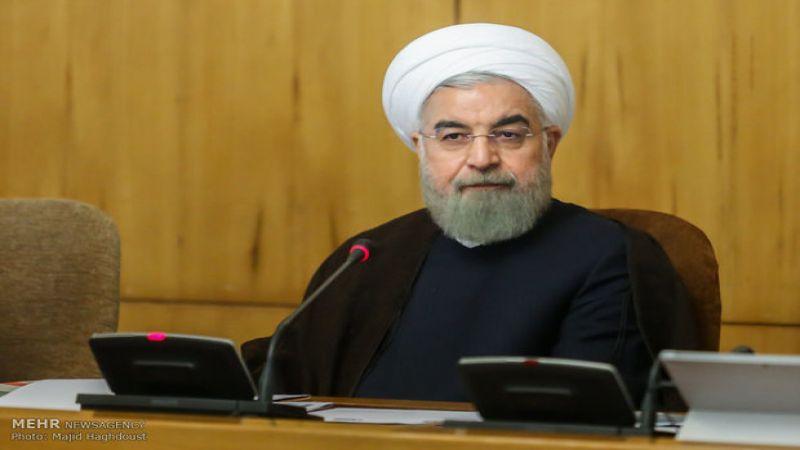 روحاني: وجود الشعب في الساحات أفشل مخططات امريكا