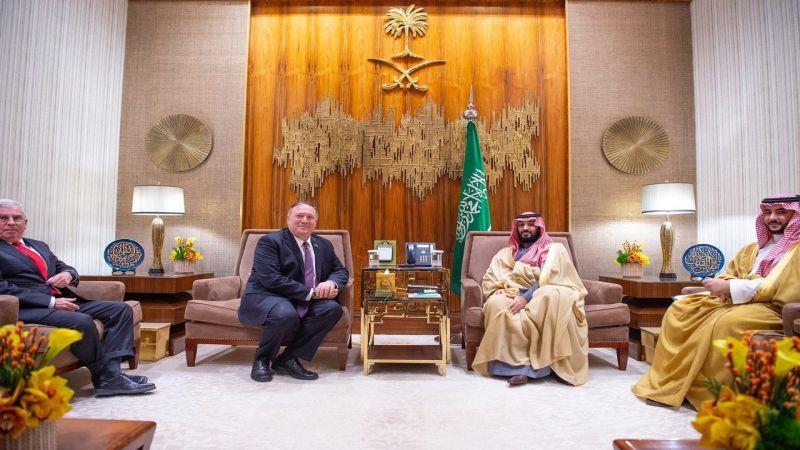 بومبيو في الرياض.. تنسيق لمواجهة إيران