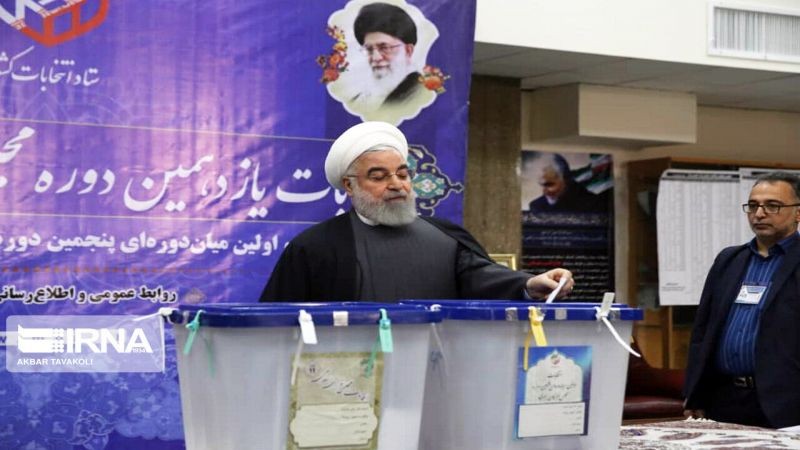 قادة إيران: كل صوت في الانتخابات سيوجّه صفعةً لواشنطن